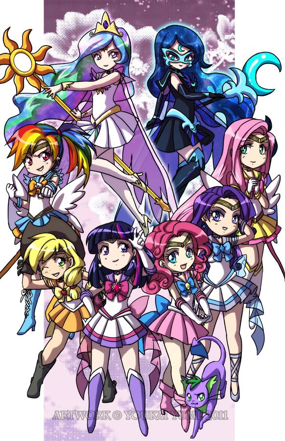 MLP Sailor Senshi