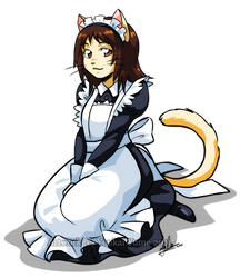 Maid Haru by YoukaiYume