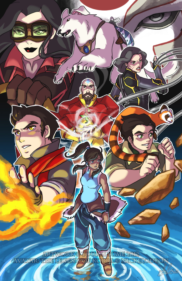 Korra: Weight of the World by YoukaiYume