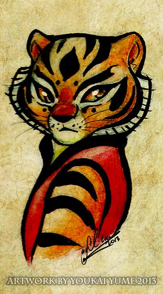 Tigress by YoukaiYume