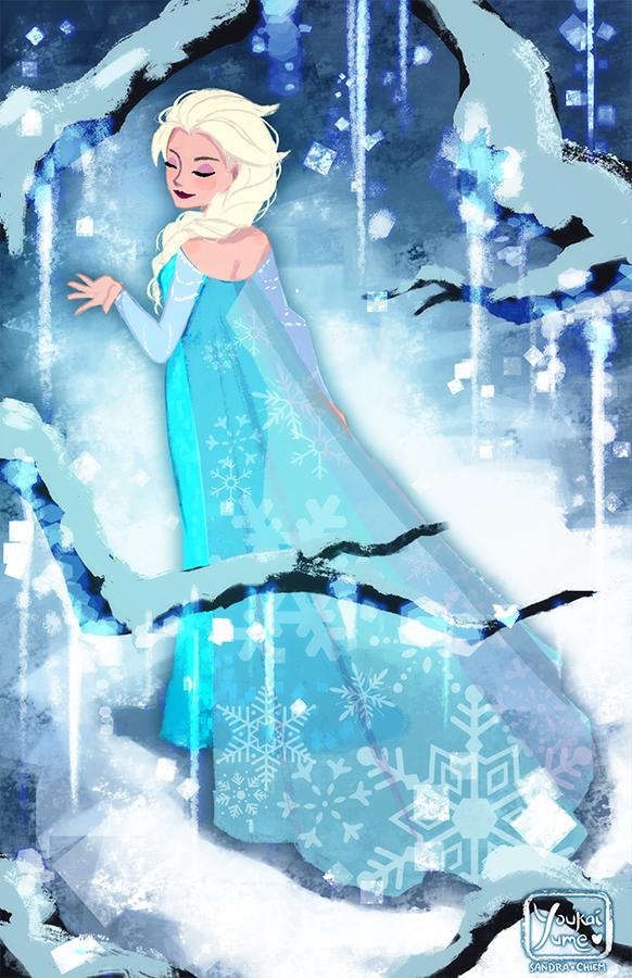 Elsa by YoukaiYume