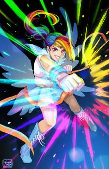 Sailor Rainbow Dash