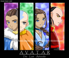 Avatar the Last Airbender by YoukaiYume