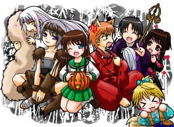 Furuba Halloween - IY Style by YoukaiYume