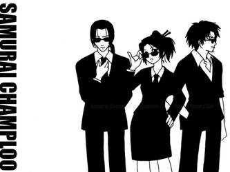 SC :Samurai in Black: by YoukaiYume