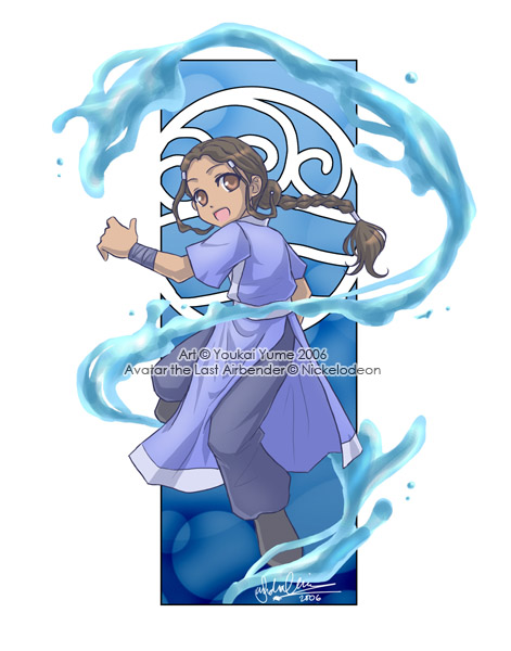 Commission - Katara Saffron by YoukaiYume