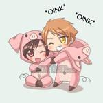 HikaHaru - Oink Oink