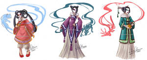3 Chinese Sorceresses