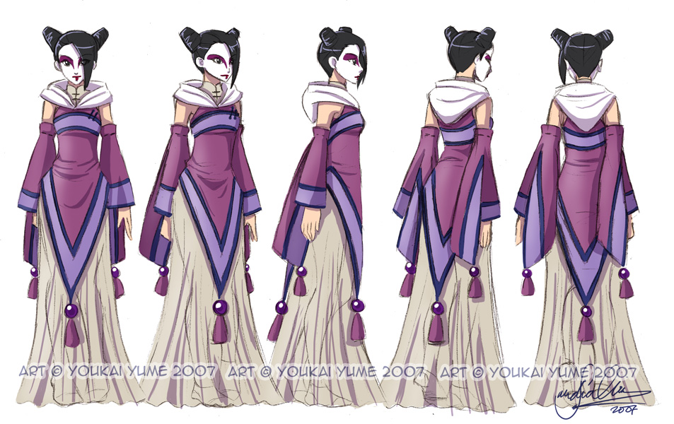 The Grail Games OOC Sorceress_Turnaround_by_YoukaiYume