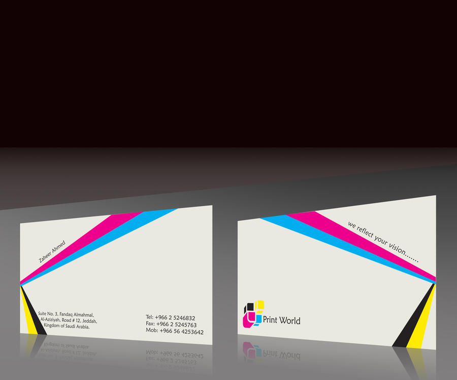Print world business card by mansoorfarooqui on deviantart print world business card by mansoorfarooqui reheart Gallery