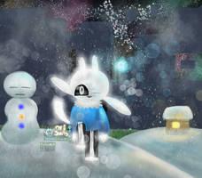 Ori Sans: a light in the snow by Tnynfox