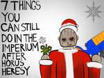 A PSA by Chaplain Erebus by Tnynfox