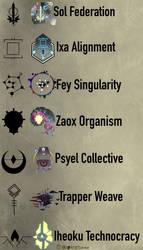 Galactic Factions (lore in description) by Tnynfox