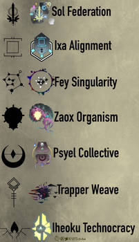 Galactic Factions (lore in description)