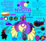 Nyota fursona sheet - Spring 2021 by Tnynfox