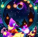 Radiant Nyota birb by Tnynfox