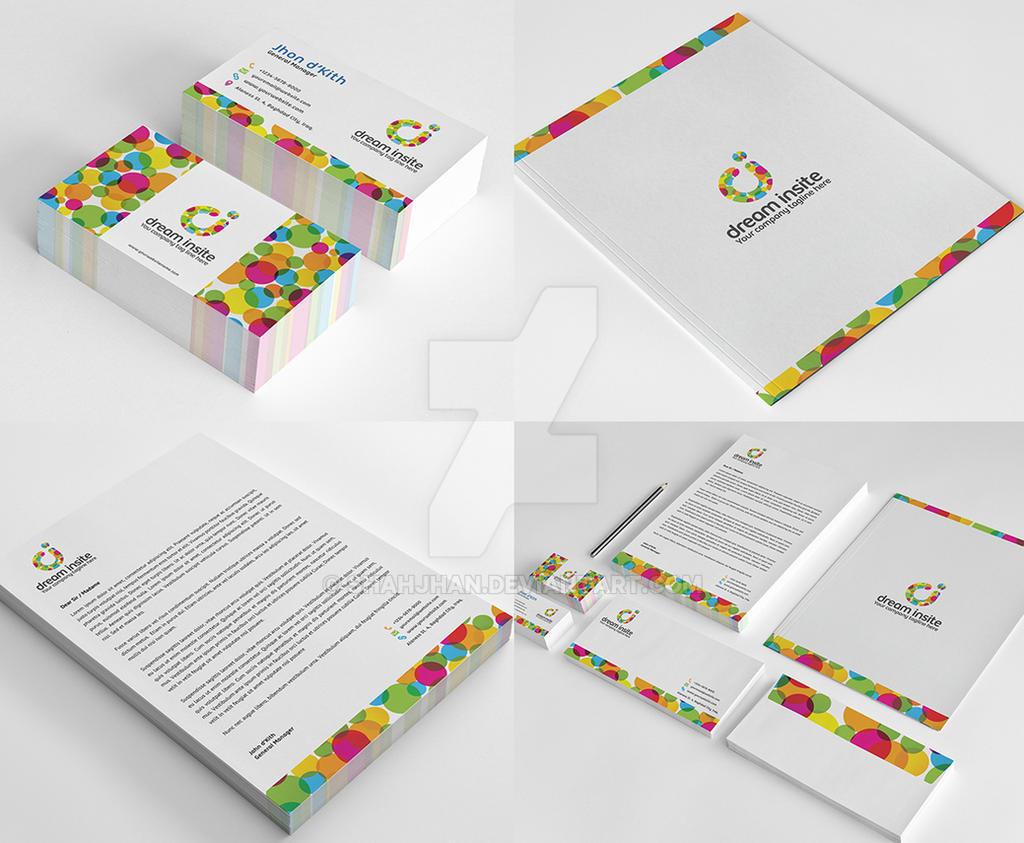 Dream Insite Stationary Design by shahjhan