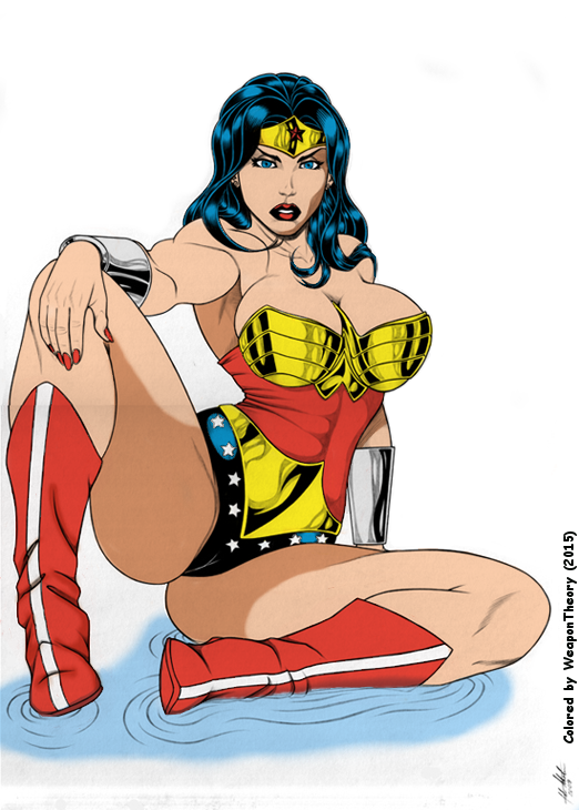 Wonder Woman by fabio018 Colored by WeaponTheory