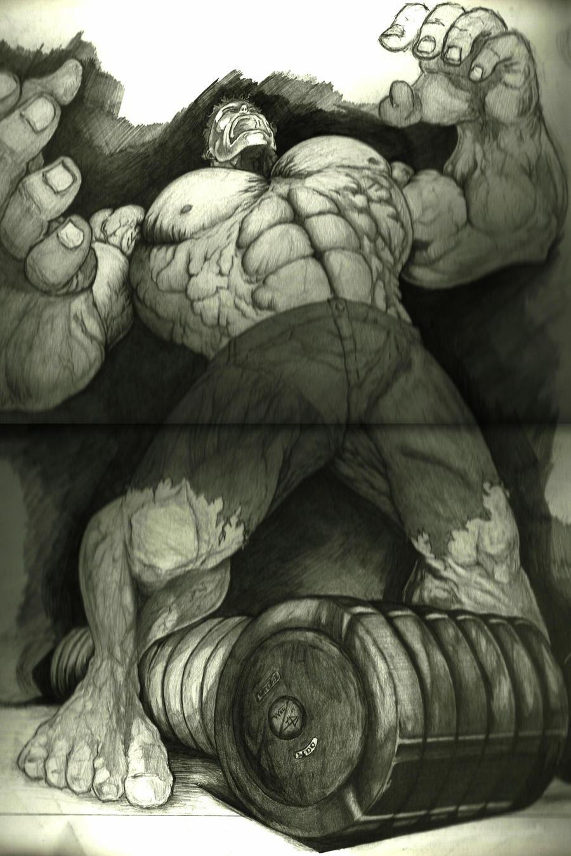 incredible hulk art gallery - photo #17