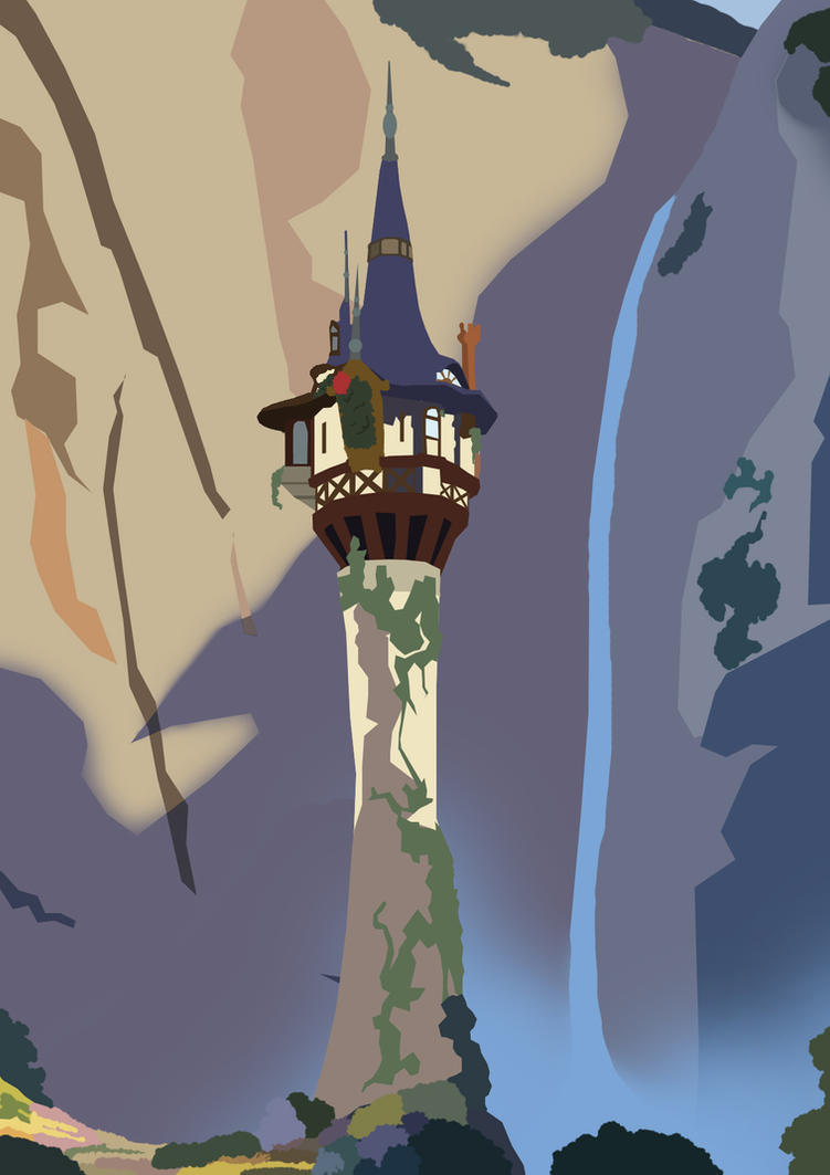 Rapunzel 39 s tower by consideredbypeers on deviantart - Tangled tower wallpaper ...