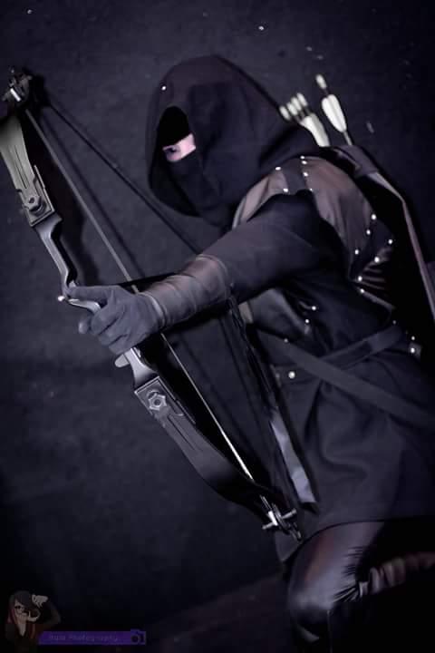 Arqueiro Negro -Arrow by jessycaa