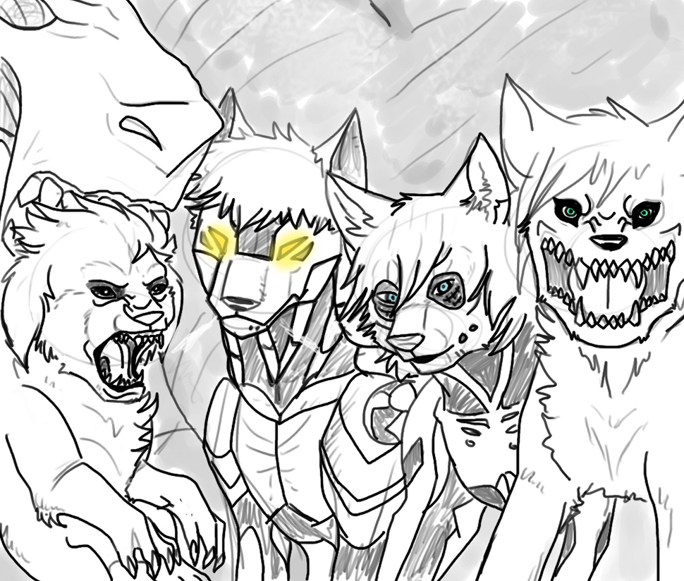 Attack on Doodle by VexPhantom