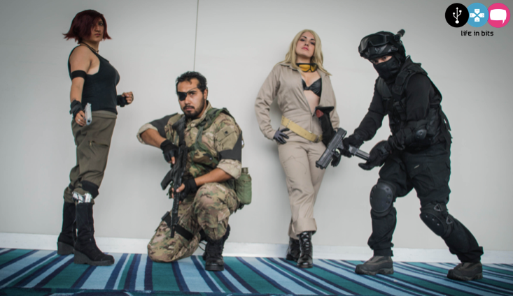 Metal Gear Solid Cosplay by AlexiaDeath10