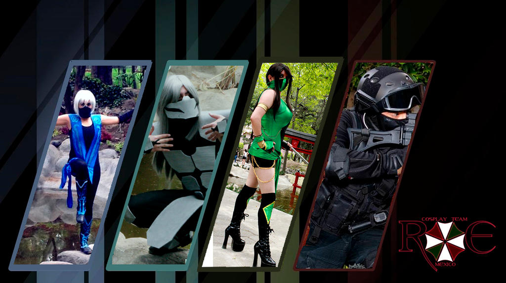 RE Cosplay Team Mexico by AlexiaDeath10