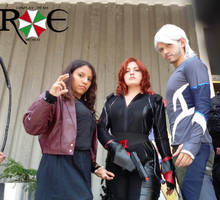 Black Widow and the Twins