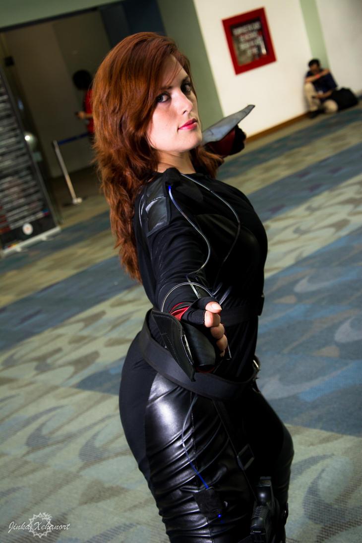 Black Widow Age Ultron: Black Widow Age Of Ultron Cosplay By AlexielDeath10 On