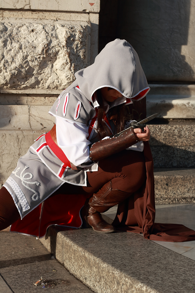 Ezio Auditore Cosplay by AlexiaDeath10