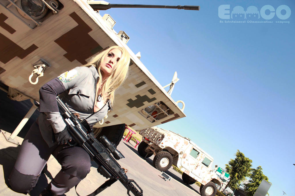Sniper Wolf from MGS by AlexielDeath10