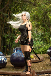 A2 NIER Automata Cosplay by AlexielDeath10