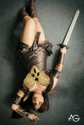 Xena Cosplay by AlexielDeath10