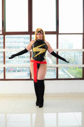 Carol Danvers - Miss Marvel by AlexielDeath10