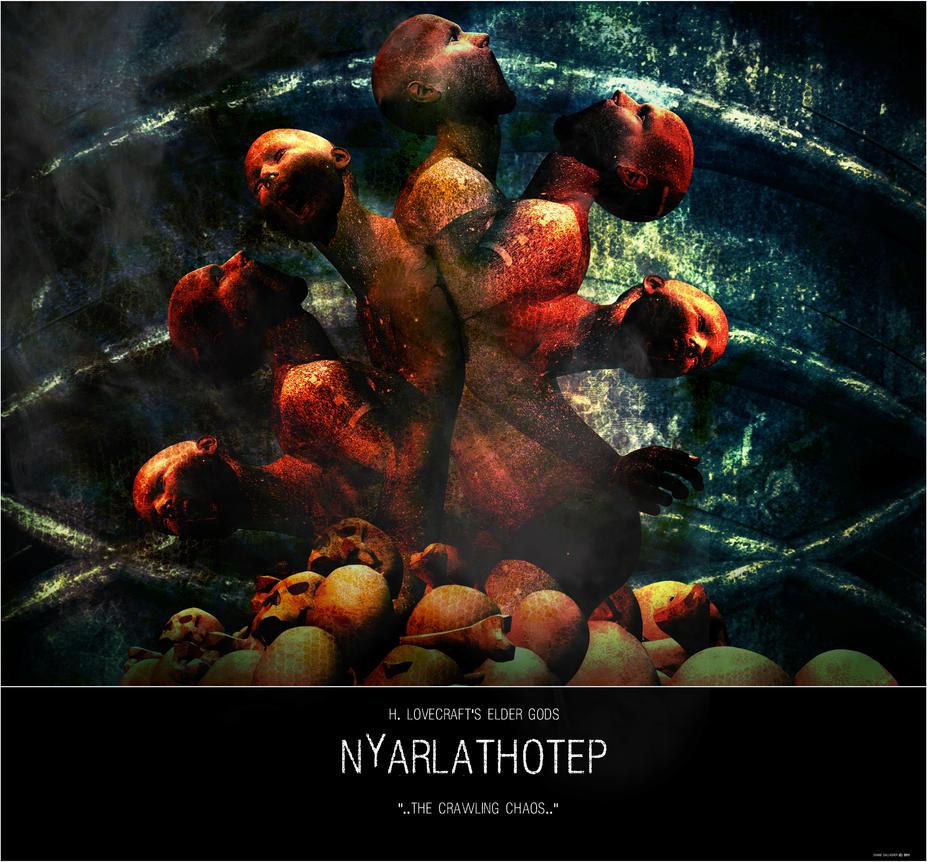 Azathoth Vs Cthulhu Nyarlathotep by ShaneG...