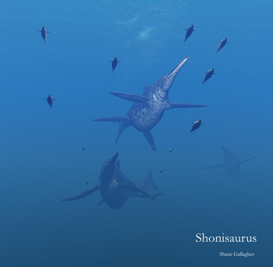 Shonisaurus by ShaneGallagher