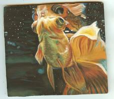 Gouache Fish by Berreh