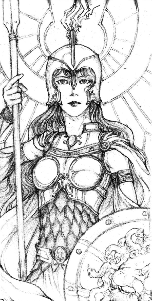 Athena Greek God Drawing | www.imgkid.com - The Image Kid ...