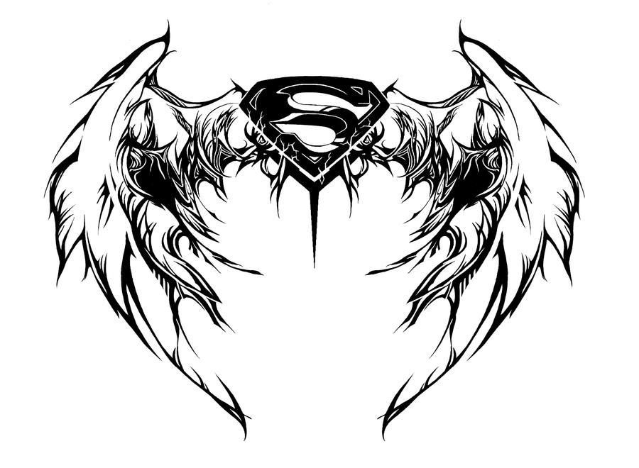 Superman Tattoo Designs For Girls Coolest Superman tattoo