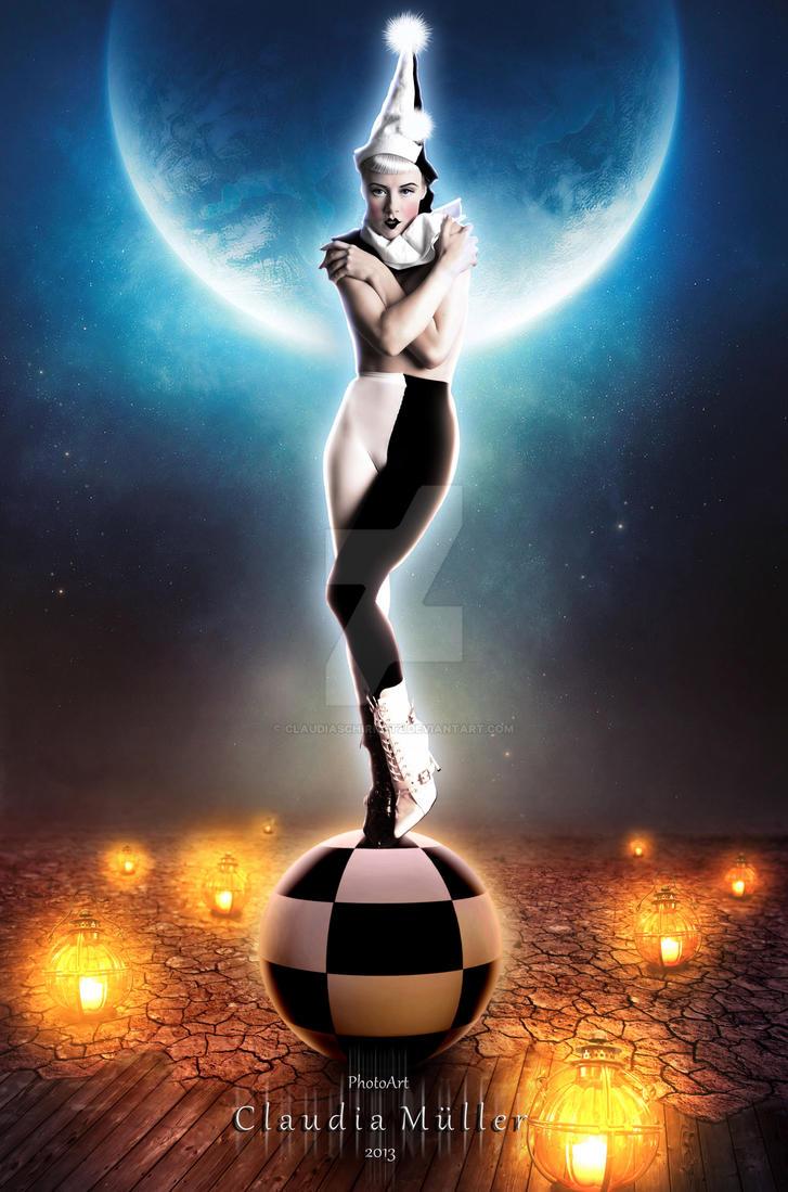 Pierrot by ClaudiaSchirmetz