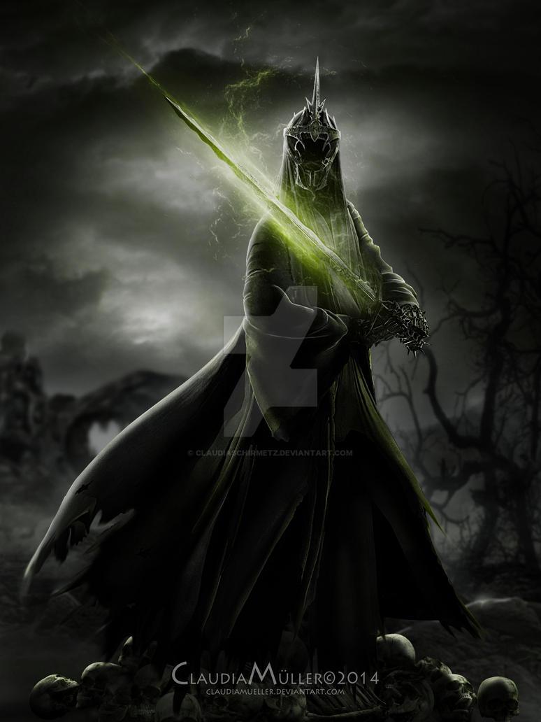 Witch-king of Angmar by ClaudiaSchirmetz