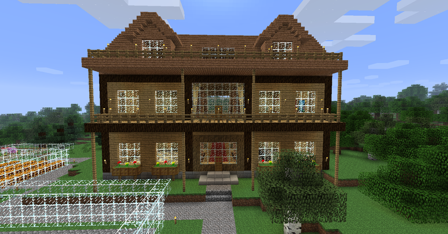 My minecraft house by volcanosf on deviantart - Minecraft house ideas ...