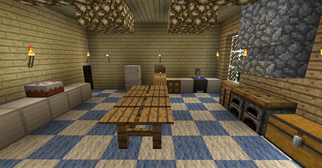 my minecraft house 9 kitchen 2 by volcanosf on deviantart
