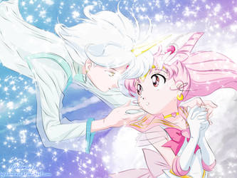 Sailor Moon: Chibiusa and Helios by 1GedoMazo1