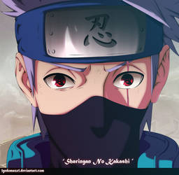 Naruto 688 - Sharingan No Kakashi by 1GedoMazo1