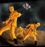 Boruto Chapter 37 : Naruto vs Jigen