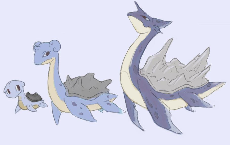 Lapras mega evolution