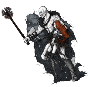 Commission: Rim and Azog by Kurumii-chan