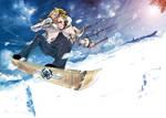 Winter Games: Snowboard Kite